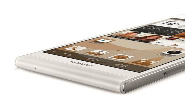 Laut Hersteller ist das Huawei Ascend P6 das derzeit flachste Smartphone der Welt.
