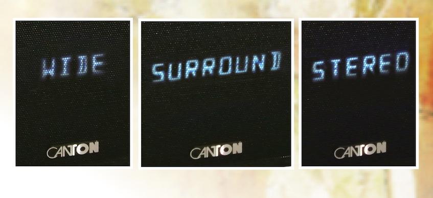 Cantons schicker Alleskönner ist in der Lage die ihm zugespielten Quellen in drei unterschiedlichen Wiedergabemodi auszugeben.
