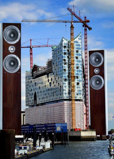 Die ASW Genius 410 macht's möglich. Musik kann im Wohnzimmer klingen wie im großen Konzerthaus.  Foto: Michael B. Rehders