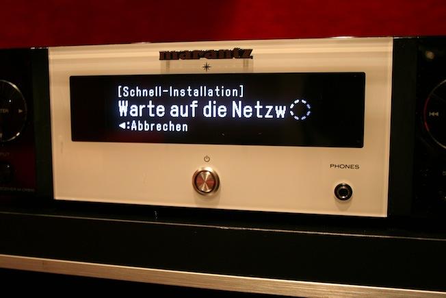 Auf einen Knopfdruck scannt der M-CR510 alle verfügbaren Netzwerke.