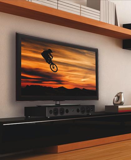 Magnats Sounddeck 400 BTX Trägt TV Bildschirme Bis Zu Einer Größe Von 90  Zoll Bzw