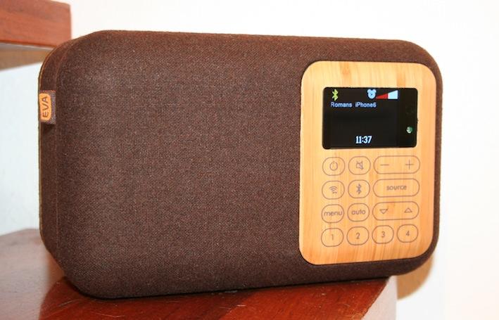 Tischradio mit FM, DAB+ und Bluetooth – das EVA SCR400D