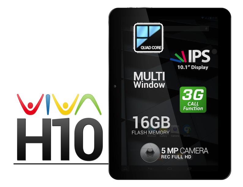 allview stellt ein neues 10 zoll tablet pc vor viva h10. Black Bedroom Furniture Sets. Home Design Ideas