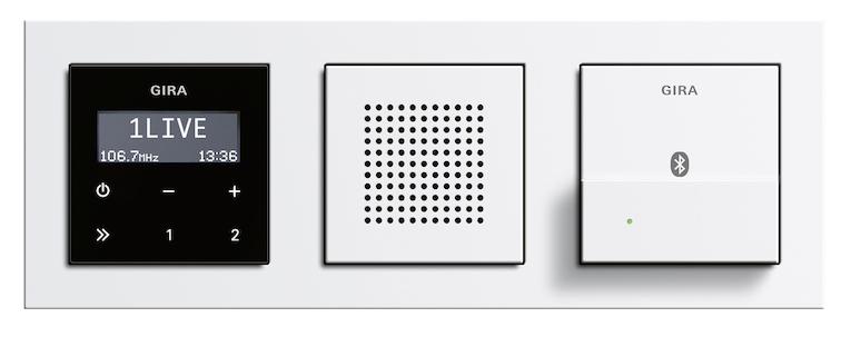 musik pur gira dockingstation f r das gira unterputz radio rds lite das lifestyle technik. Black Bedroom Furniture Sets. Home Design Ideas