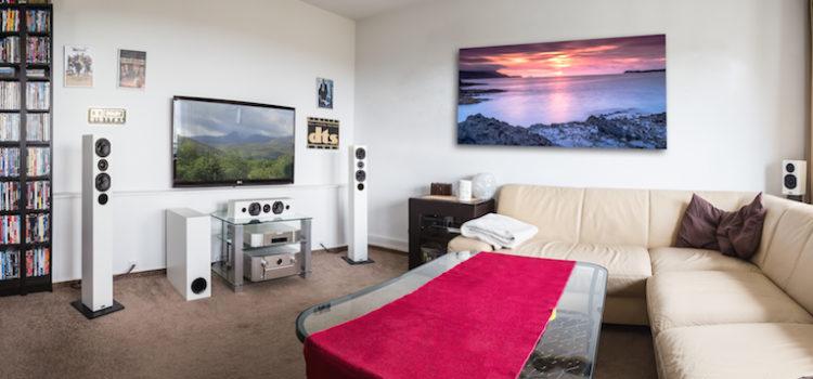 ASW Opus 14, Mehrkanaltraum für Wohnzimmer-Cineasten