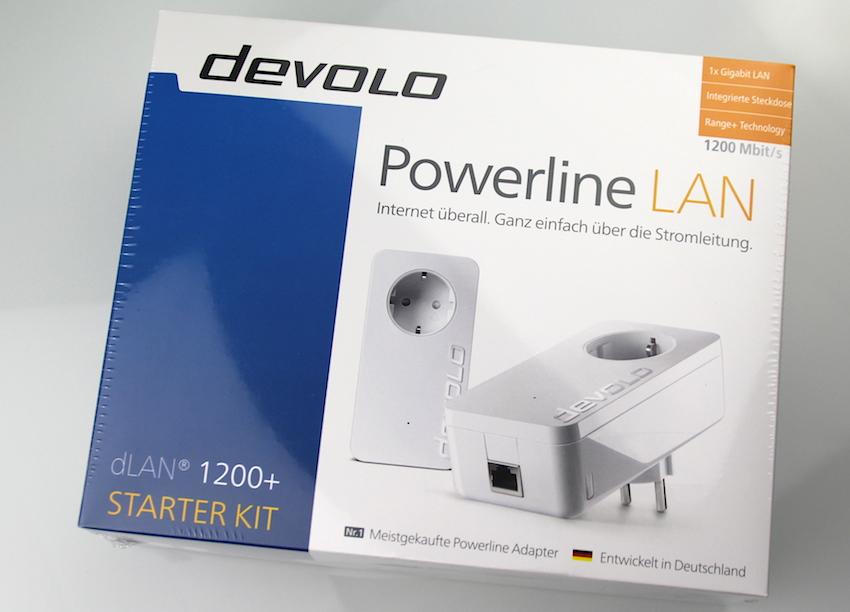 Kein Kabel mehr verlegen: Mit seinem dLAN 1200+ Starter Mit verspricht Devolo die ideale Lösung, um selbst den Rechner in der hintersten Ecke ins Netzwerk zu bringen.