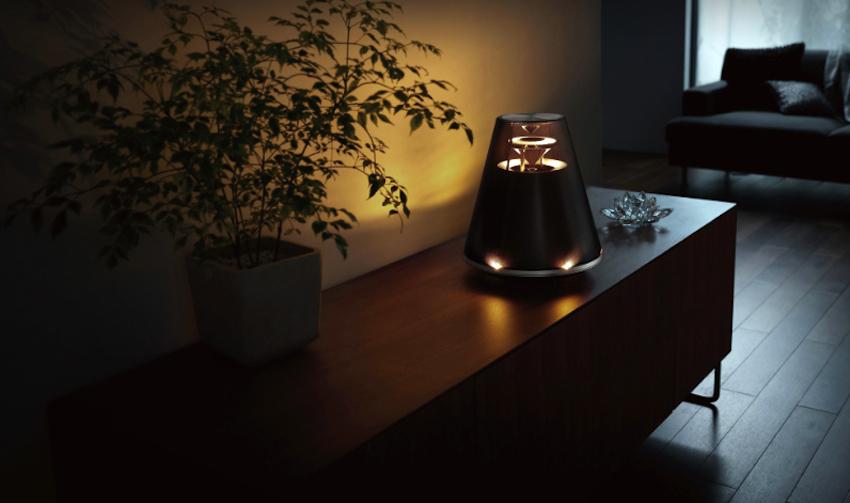 test 360 grad musik und lichtambiente die yamaha relit. Black Bedroom Furniture Sets. Home Design Ideas