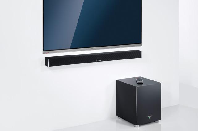 Elegant, vielseitig und enorm klangstark: Der AudioMaster BT 90 fügt sich perfekt und harmonisch in jedes Wohnambiente ein und ist mehr als ein vollwertiger Ersatz für die klassische Musikanlage.