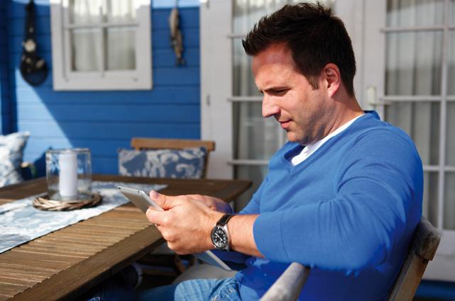 Dank der flexibel einsetzbaren Adapter erreicht man auch auf der Terrasse oder im Gartenhäuschen eine hervorragende Signalstärke wie im Wohnzimmer.