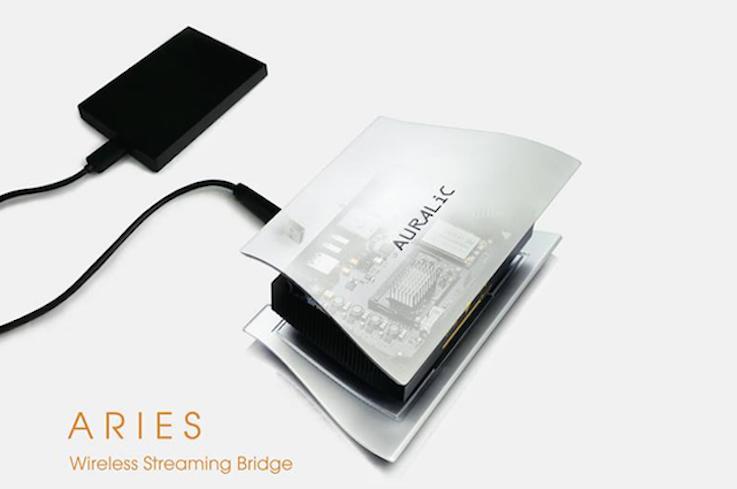 Einzigartig: Über die erweiterte USB-Wiedergabefunktion lassen sich Inhalte von angeschlossenen USB-Quellen nicht nur über den Aries LE, sondern auch über andere ins Netzwerk eingebundene Wiedergabegeräte (z.B. Computer, Tablet, Smartphone) abspielen.
