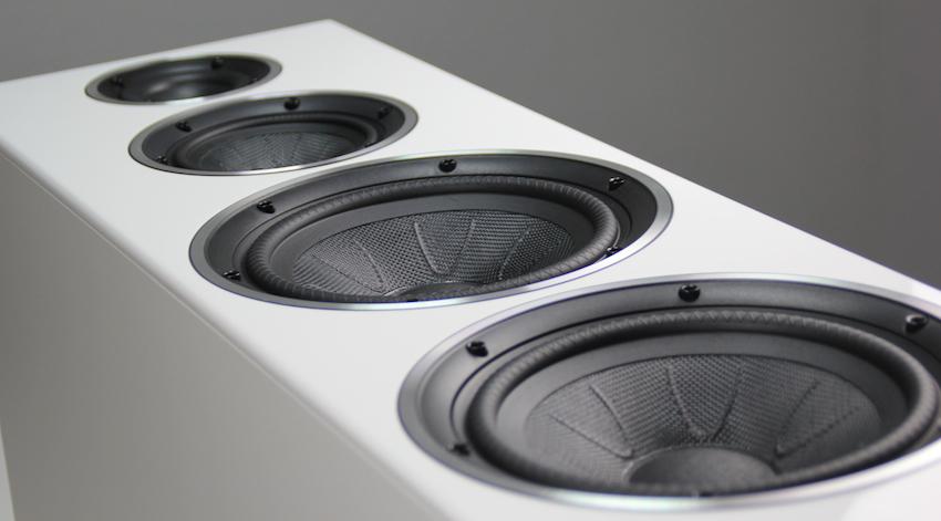 Die Chassis der Diamond 250 sind mit hochwertigen Kevlar-Membranen bestückt und bündig in die Schallwand eingelassen. Ein Qualitätsstandard, der in der dieser Preisklasse alles andere als üblich ist.