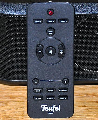 Vielfältige Funktionen mit wenigen Tasten: Im Handumdrehen basteln Sie sich so den perfekt auf Ihre Ohren abgestimmten Sound!