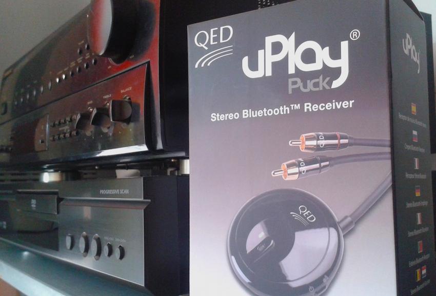 Test: QED uPlay Puck – Bluetooth-Upgrade für jedes HiFi-System
