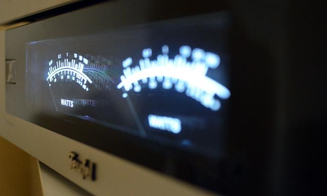 Die AmpStation kann mit optisch ansprechenden VU-Metern aufwarten.