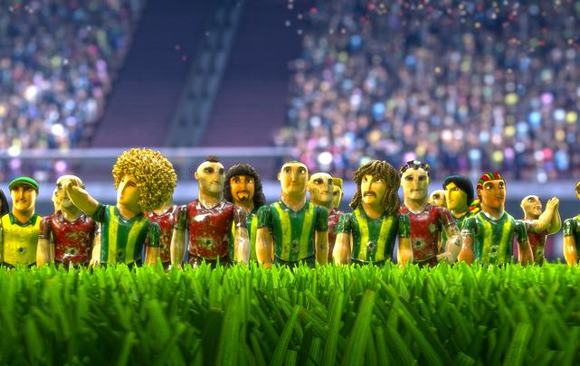 Neu Auf Dvd Und Blu Ray Fußball Großes Spiel Mit Kleinen Helden