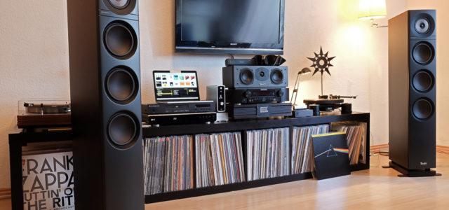 test xtz flr standlautsprecher mit eingebautem klangtuning. Black Bedroom Furniture Sets. Home Design Ideas