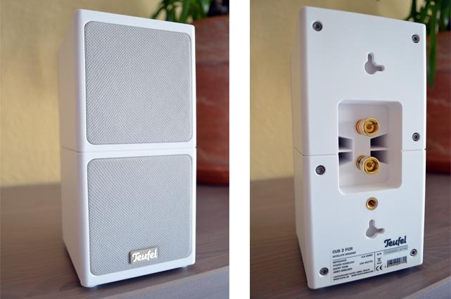 Die kompakten und dezenten Lautsprecher fallen eher klanglich als optisch auf.
