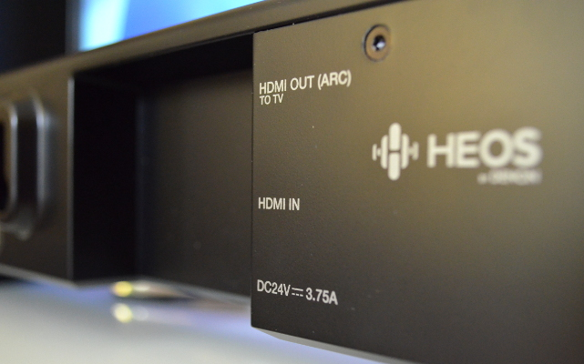 Der HDMI-Ausgang zum Fernseher ist ARC-fähig und macht die Installation sehr einfach.