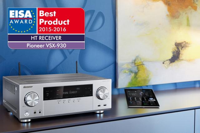 Pioneer Eisa Awards Für Av Receiver Und Blu Ray Player