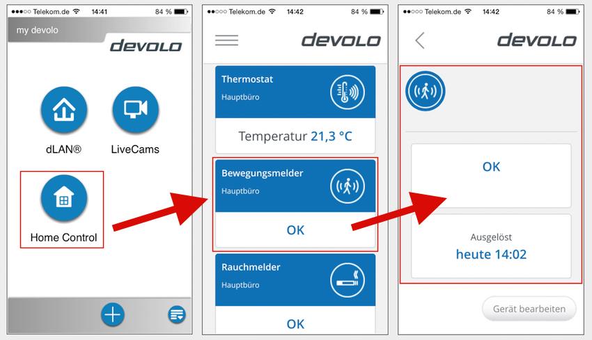 test devolo home control sicherheitspaket effizienter schutz ohne kabelwirrwarr. Black Bedroom Furniture Sets. Home Design Ideas