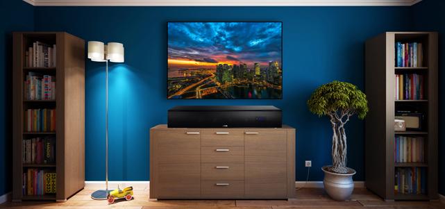 Canton DM 90.3 – TV-Lautsprecher mit Zusatz-Kompetenzen