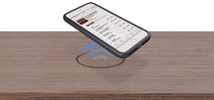 spectral pr sentiert m bel mit wireless charging. Black Bedroom Furniture Sets. Home Design Ideas