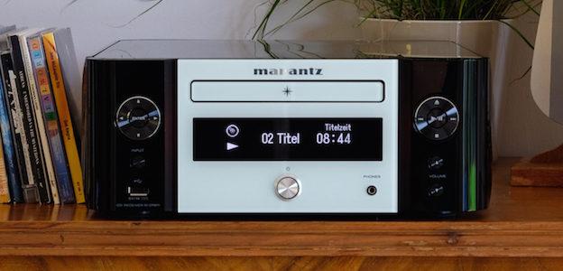 Marantz M-CR611 – Kompakter Netzwerkplayer mit modernen Qualitäten