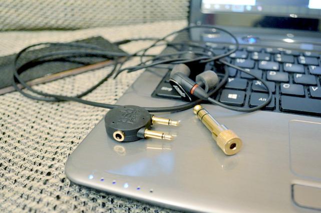 Passende Adapter sind natürlich im Lieferumfang enthalten.