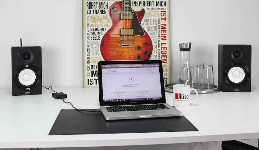 So ergänzt wird das Apple MacBook zum HighRes-Player.