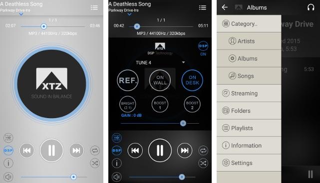 Per Smartphone-App lassen sich Presets wählen und der Sound anpassen.