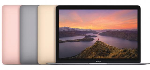 Apple aktualisiert MacBook mit neuesten Prozessoren