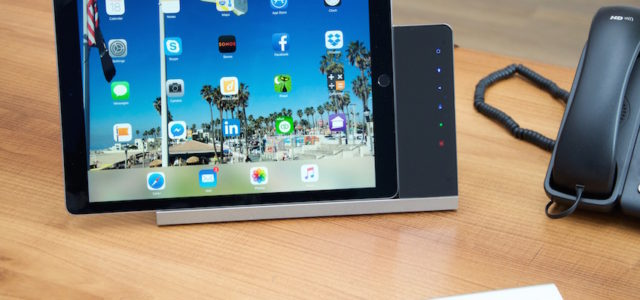 iRoom – universelle iPad Tischladestation mit Steuerungsfunktionalität
