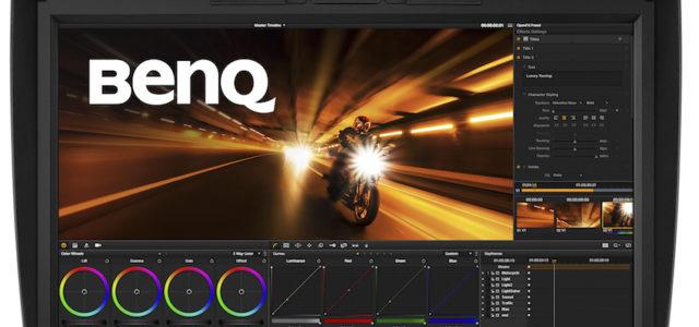 BenQ PV270: Hardware-kalibrierter WQHD-Monitor für Foto- und Videoproduktion