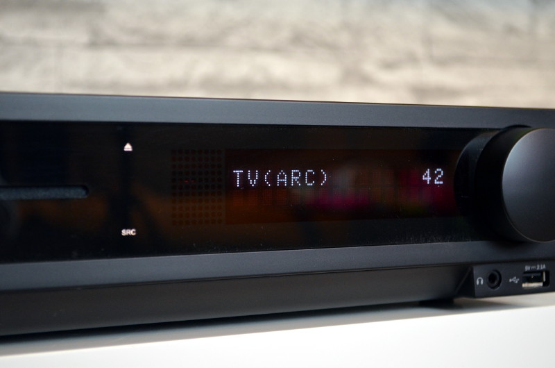 Das Display des Impaq 8000 ist stets gut ablesbar und konzentriert sich auf die wesentlichen Informationen.