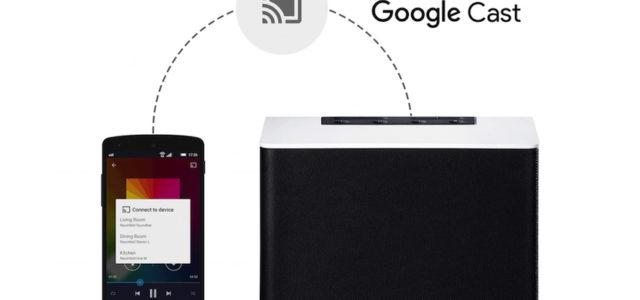 Google I/O: Raumfeld mit Google Cast für Audio