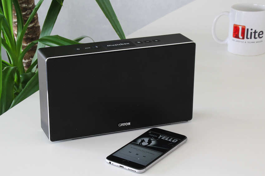 canton musicbox s zeitlos gestylt mobil kabellos. Black Bedroom Furniture Sets. Home Design Ideas