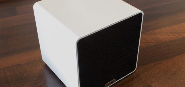 Große Idee, kompakt gedacht: Der WHD Qube BT zelebriert Musik kabellos