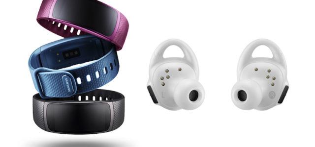 Mobilmacher: Gear Fit2 und Gear IconX für unbeschwerten Sportspaß
