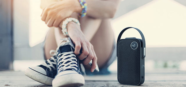 ONE CLICK: Anpassungsfähiger Libratone Bluetooth-Lautsprecher