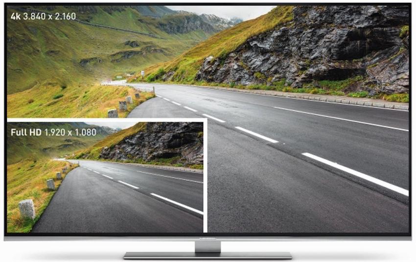 Im Unterschied Zu Gewöhnlichen Full HD TVs Verfügen Ultra High  Definition TVs über