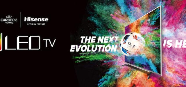 Hisense präsentiert TV-Portfolio zur UEFA EURO 2016™