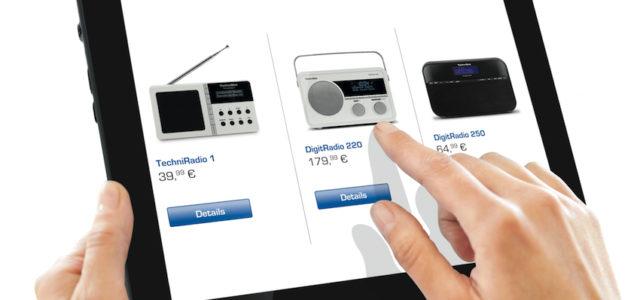 Der neue TechniSat Digitalradio-Finder findet für jeden das passende Radio