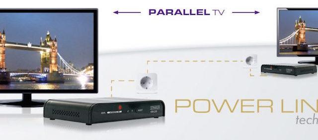 Schwaiger stellt Geräteset für HDMI™ über Powerline vor