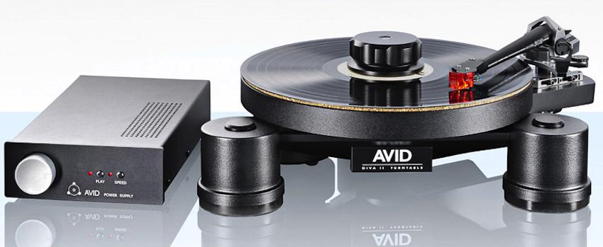 AVID DIVA II SP: der vielseitige und aufrüstbare Plattenspieler mit weiteren Besonderheiten ...