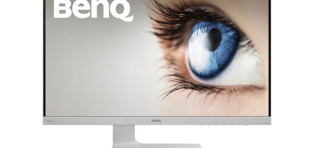 BenQ VZ2470H und VZ2770H – Design-Displays in Weiß mit schlankem Profil
