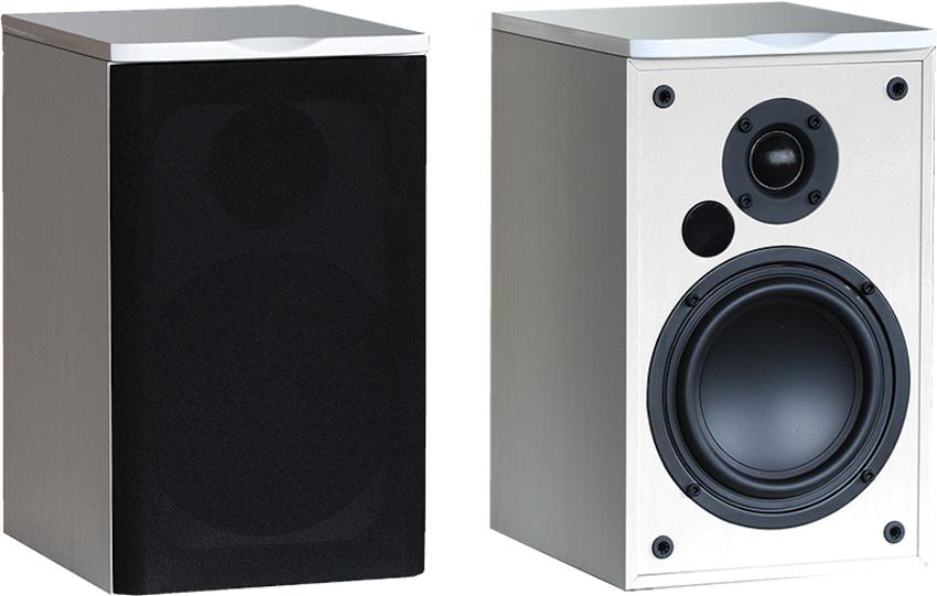 Advance Acoustics bietet seine Air 55 auch in weißer Ausführung an. Die Gewebeabdeckungen sind in dieser Ausführung allerdings in schwarz gehalten.