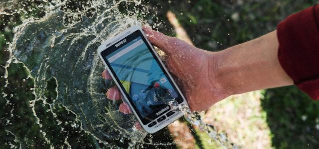 Handheld stellt robustes Android-Gerät NAUTIZ X2 vor