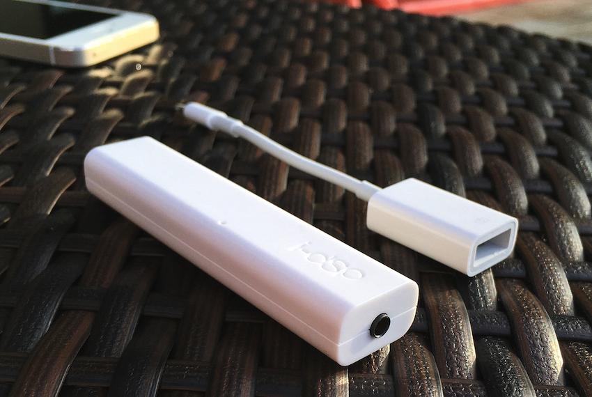 Ist man Besitzer eines iPhones und eines i-dSp, wird nur noch der Lightning to USB Camera Adapter von Apple benötigt. Schon kann es losgehen.
