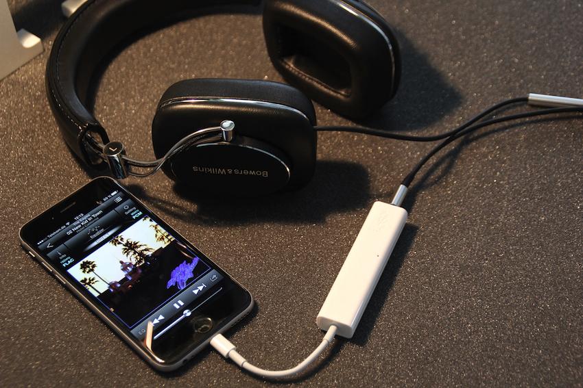 Der i-dSp wiegt weniger als 13 Gramm und ist gerade einmal 8,5 Zentimeter lang. Das ideale Audioupgrade für unterwegs ...