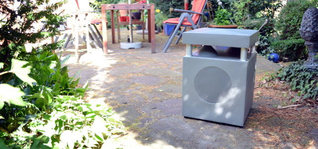 WHD GL 100 WR – Gartenlautsprecher mit WLAN und viel Power